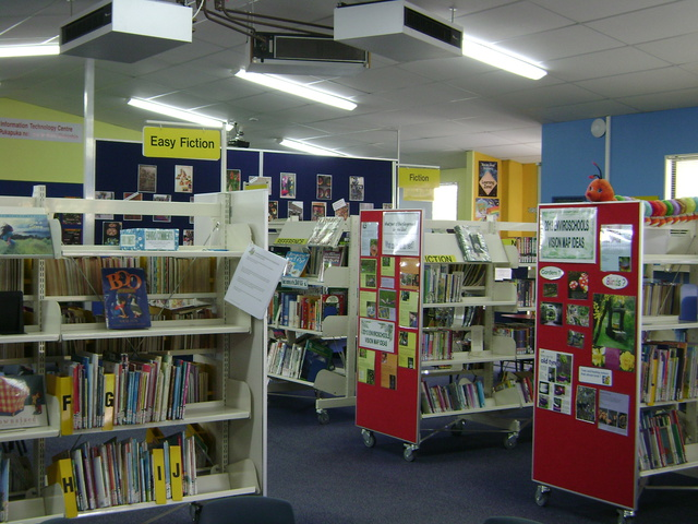 View of our Library
